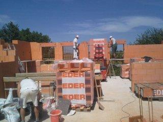 Aufbau der Wände
