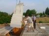 Einbau der Beton Treppe